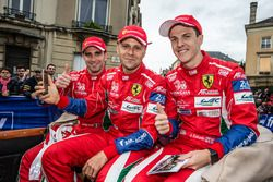 #51 AF Corse Ferrari 488 GTE: Alessandro Pier Guidi, Gianmaria Bruni, James Calado