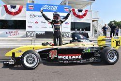 Race winner Aaron Telitz, Team Pelfrey