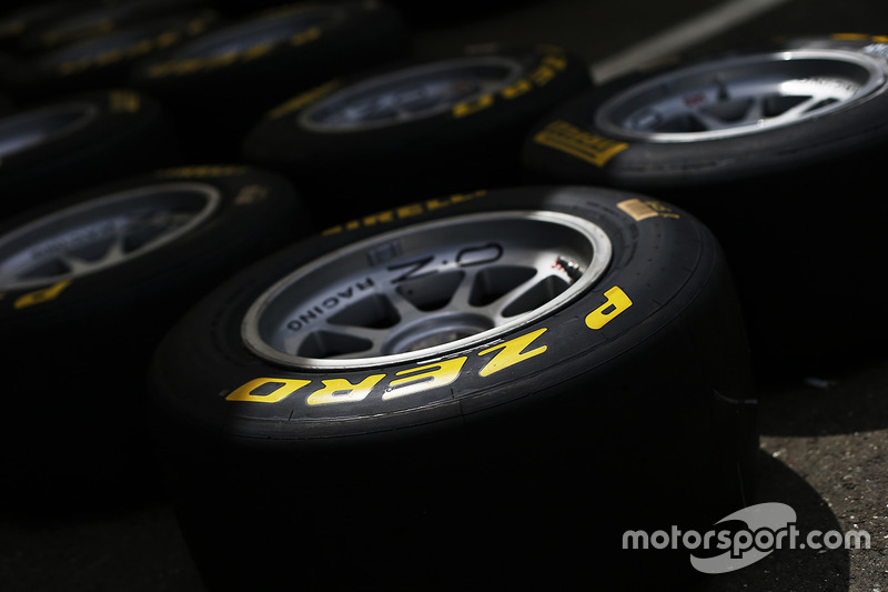 Pirelli GP3 tyres