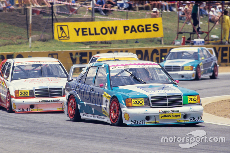 Bernd Schneider, AMG Mercedes 190E 2.5-16 Evo2, vor Klaus Ludwig, AMG Mercedes 190E 2.5-16 Evo2
