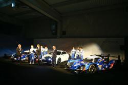 #35 Baxi DC Racing Alpine A460 - Nissan: David Cheng, Ho-Pin Tung, Nelson Panciatici, #36 Signatech Alpine A460: Gustavo Menezes, Nicolas Lapierre, Stéphane Richelmi