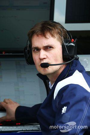 Sauber F1 Team Mühendisi