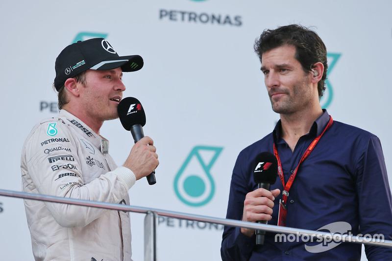 Mark Webber y Nico Rosberg