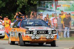 Стиг Бломквист, Audi Quattro, Rallylegend 2014 года