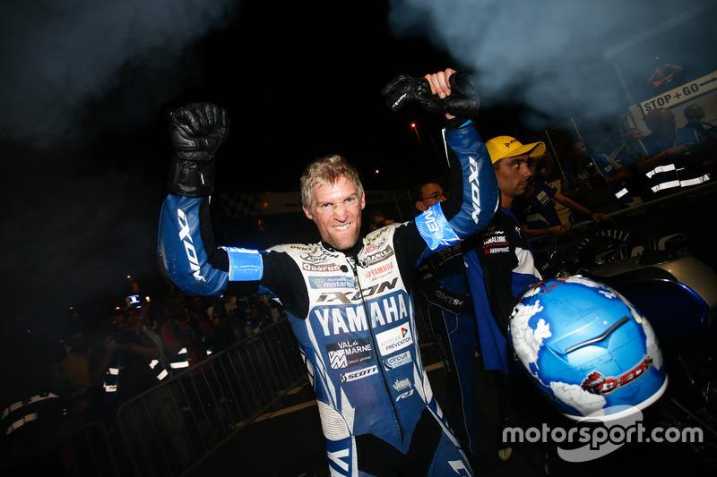 Winners #94, GMT94 Yamaha, Yamaha: David Checa, Niccolo Canepa, Lucas Mahias