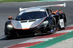 #88 Garage 59 Racing McLaren 650S: Alvaro Parente, Alexander West