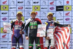 Podium pemenang Race 2 Underbone 130cc
