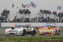 Leonel Sotro, di Meglio Motorsport Ford, Jonatan Castellano, Castellano Power Team Dodge