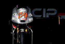 La moto de Tatsuki Suzuki, CIP-Unicom Starker, Mahindra