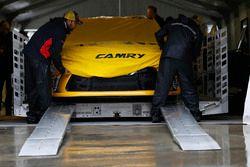 The car of Kyle Busch, Joe Gibbs Racing Toyota