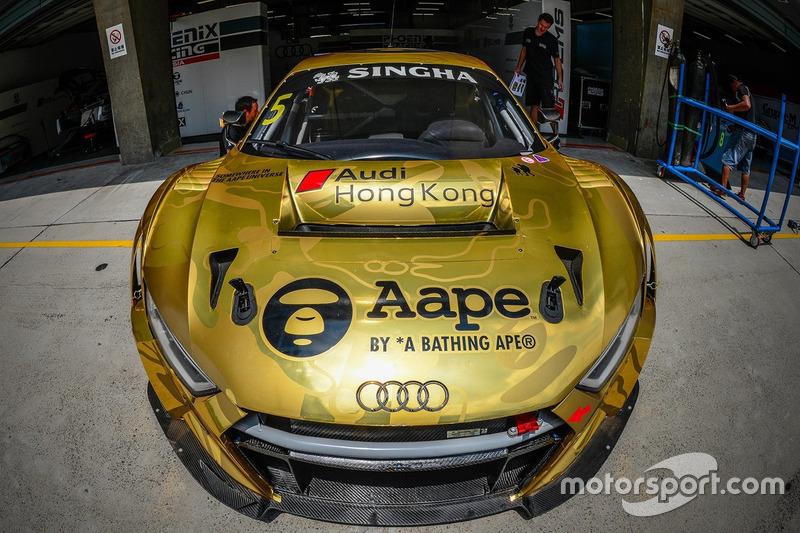 5 Phoenix Racing Audi R8 Lms Gt3 At Shanghai