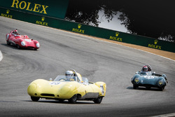 1956 Lotus Elevens in action