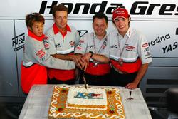 Daijiro Kato, Fortuna Honda Gresini, fête le 100e GP du Team Gresini