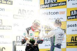 Podium: #29 Montaplast by Land-Motorsport, Audi R8 LMS: Connor De Phillippi