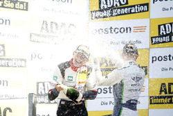 Podium: #29 Montaplast by Land-Motorsport, Audi R8 LMS: Connor De Phillippi