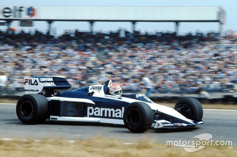 Nelson Piquet - 13 victorias con Brabham