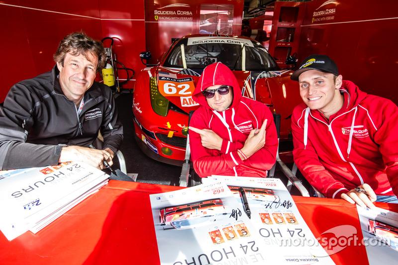 #62 Scuderia Corsa Ferrari 458 Italia: Білл Свідлер, Таунсенд Белл, Джефф Сігал