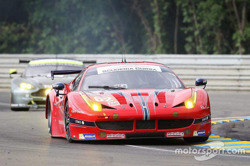 4. LMGTE-Am: #62 Scuderia Corsa, Ferrari 458 Italia