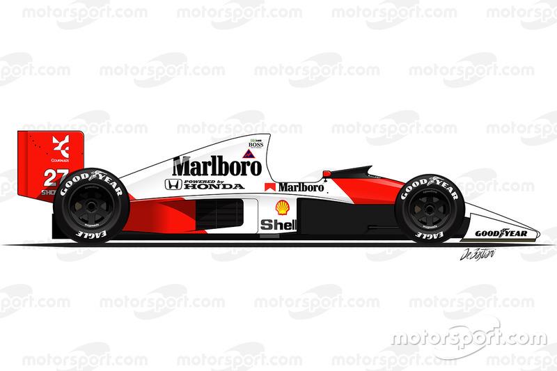 1990: McLaren MP4/5B