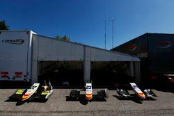 Les nez de Alex Palou, Campos Racing, Steijn Schothorst, Campos Racing et Konstantin Tereshchenko, C