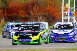 Jorge Pontet fue el poleman del fin de semana y lo cerró con un segundo puesto en la final.