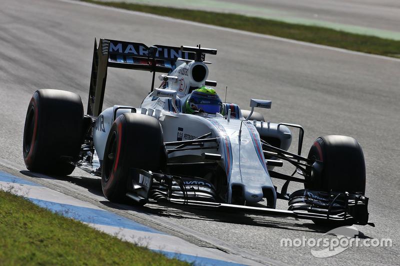 10. Felipe Massa, Williams FW38