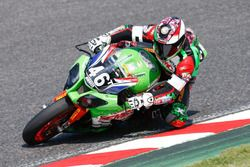 #46 Flembbo Leader Team, Kawasaki: Oliver Skach, Emiliano Belulucci, Florian Galotte