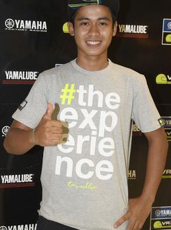 Galang Hendra Pratama, participant au Yamaha VR46 Master Camp
