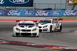 #100 BMW Team RLL, BMW M6 GTLM: Lucas Luhr, John Edwards