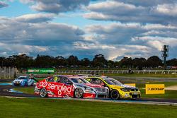 Lee Holdsworth und Karl Reindler, Team 18, Holden; Rick Kelly und Russell Ingall, Nissan Motorsports