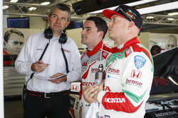 Norbert Michelisz, Honda Racing Team JAS, Honda Civic WTCC and Rob Huff, Honda Racing Team JAS, Honda Civic WTCC