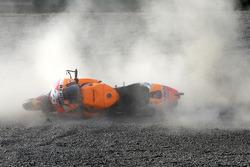 Dani Pedrosa, Repsol Honda Team accidente