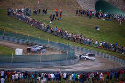 Hayden Paddon, John Kennard, Hyundai i20 WRC, Hyundai Motorsport y Ott Tanak, Raigo Molder, DMACK Wo