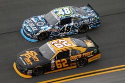 Brendan Gaughan, Richard Childress Racing, Chevrolet; Brennan Poole, Chip Ganassi Racing, Chevrolet