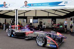 The car of Jean-Eric Vergne, DS Virgin Racing