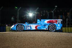 #28 Pegasus Racing Morgan Nissan: Inès Taittinger, Remy Streibig, Leo Roussel stuck in the gravel