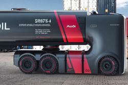 Geleceğin kamyonu konsept