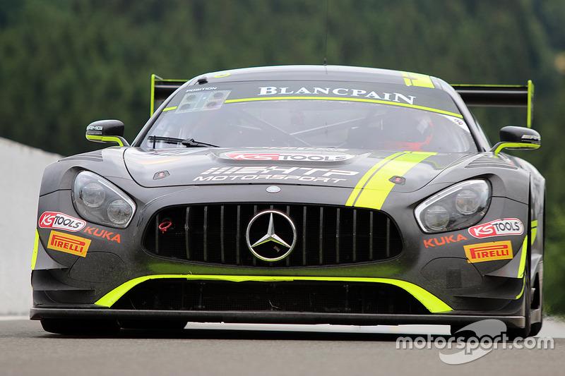 #85 HTP Motorsport Mercedes AMG GT3: Luciano Bacheta, Indy Dontje, Clemens Schmid