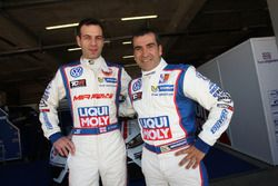 Davit Kajaia und Jordi Gené, Liqui Moly Team Engstler, Volkswagen Golf GTI TCR
