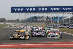 Leonel Pernia, Las Toscas Racing Chevrolet, Juan Martin Trucco, JMT Motorsport Dodge, Emanuel Moriat