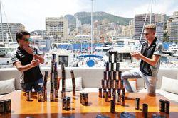 Sergio Perez, Sahara Force India F1 ve Nico Hulkenberg, Sahara Force India F1, Hype Energy Drink yat