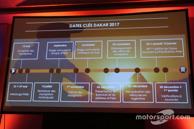 Pressekonferenz: Dakar 2017