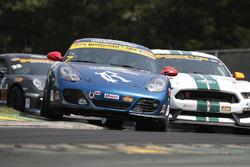 #7 Rebel Rock Racing Porsche Cayman: Lee Carpentier, Kieron O'Rourke