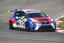 Fabiani-Giorgi, BF Racing, Seat Leon Racer-TCR #8