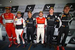 Todas las pole position Franck Perera, segundo lugar Jules Szymkowiak, tercer puestos Jazeman Jaafar