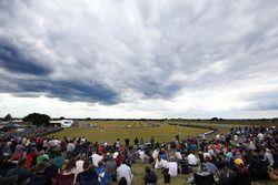 Zuschauer am Snetterton Circuit