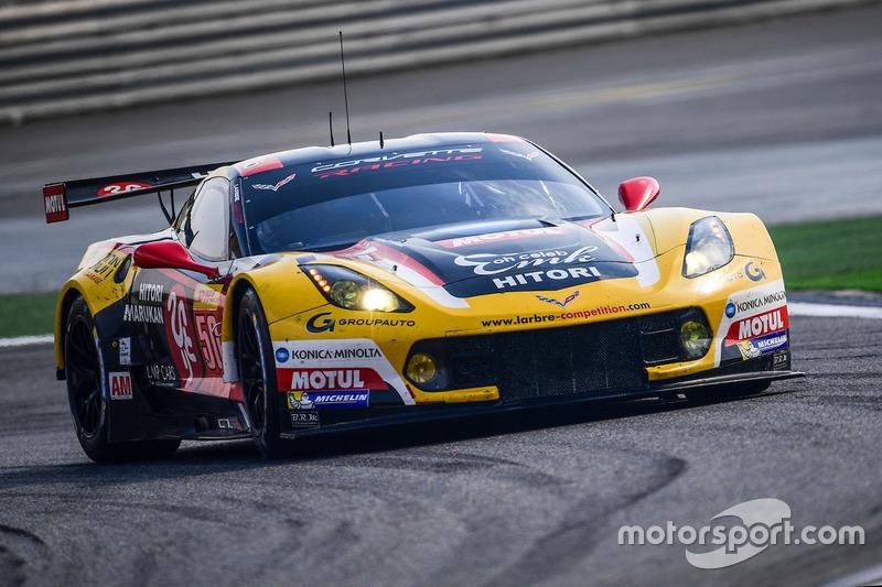 5. LMGTE-Am: #50 Larbre Competition, Corvette C7.R
