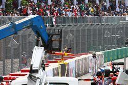 Unfall: Pascal Wehrlein, Manor Racing