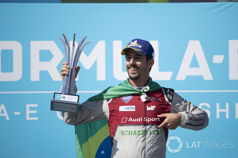 2017/2018 - Fórmula E - Vice campeão mundial (Audi Abt)