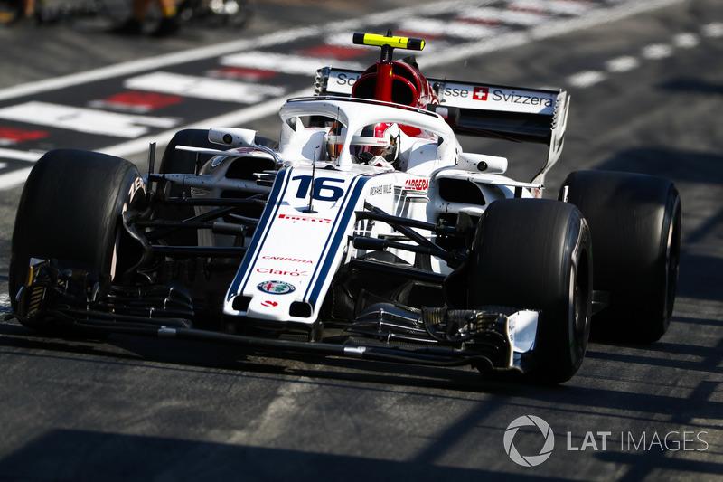 17. Charles Leclerc, Sauber C37